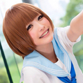 Kill la Kill Mankanshoku Mako Short Brown Bob Anime Cosplay Wig
