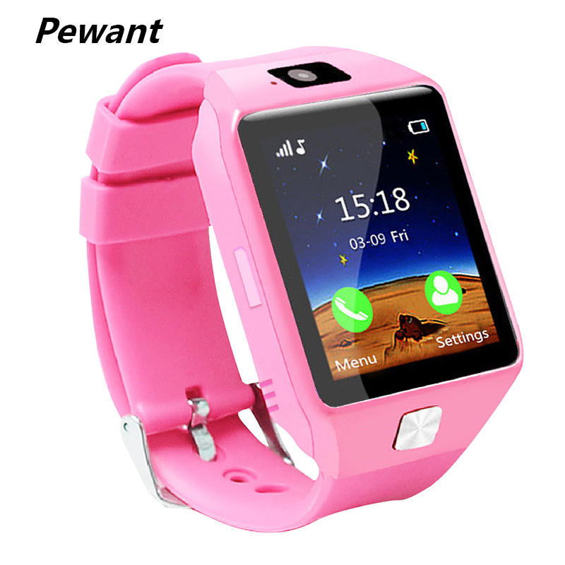 Pewant Smart Baby Watch Phone For Children Support Camera SIM TF Card Kids Smart Watch For IOS Android Phone