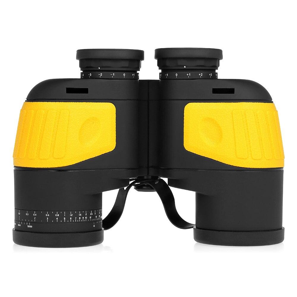 10X50 jumelles boussole Marine Navigation nautique télescope binoculaire pour l'observation des oiseaux en plein air voyage chasse Camping télescope