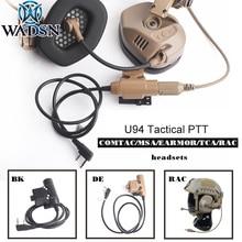 Headset-Accessory U94 Rac Tmc Tmc-Rac-Headset Tactical Ptt WADSN TCA/TRI Softair Hunting