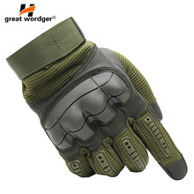 Outdoor Cycling Gloves Touch Screen Army Tactical Luvas Taticas Motorcycle Sports Hiking Men Airsoft