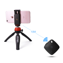 Ulanzi Mini Desktop Tripod with Bluetooth Remote Control for Vlog Video Livingstream Universal for iPhone Samsung Smartphone