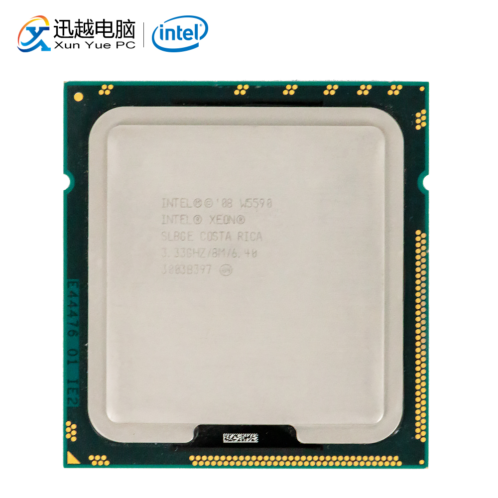 Intel Xeon W5590 Desktop Processor W5590 Quad-Core  3.33GHz 8MB L3 Cache LGA 1366 Server Used CPU