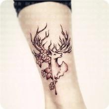 (Min Order $0.5) Waterproof Temporary Tattoo Tatoo Henna Fake Flash Tattoo Stickers Taty Tatto Flying Bucks SYA008