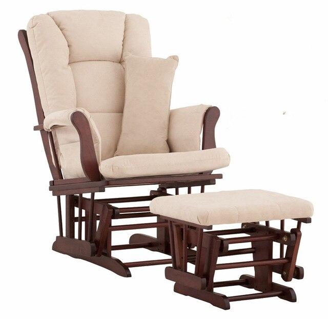 Comprar ahora Nursery Rocker y planeadores otomana de madera ...