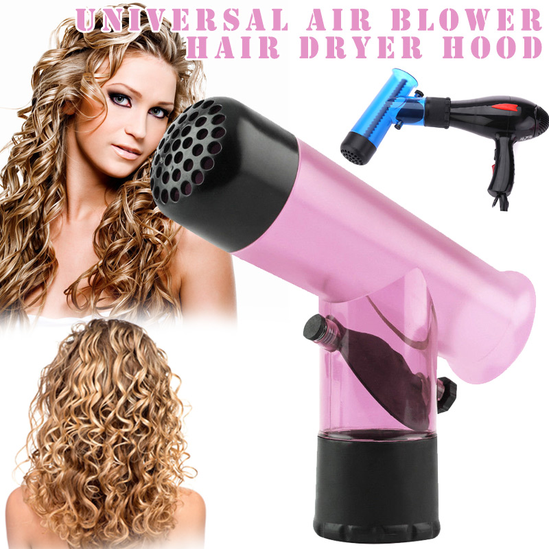 1 Pcs Fashion Convenient Hair Dryer Diffuser Magic Wind Spin Detachable Curl Hair Diffusers Roller Curler HY99 DC14