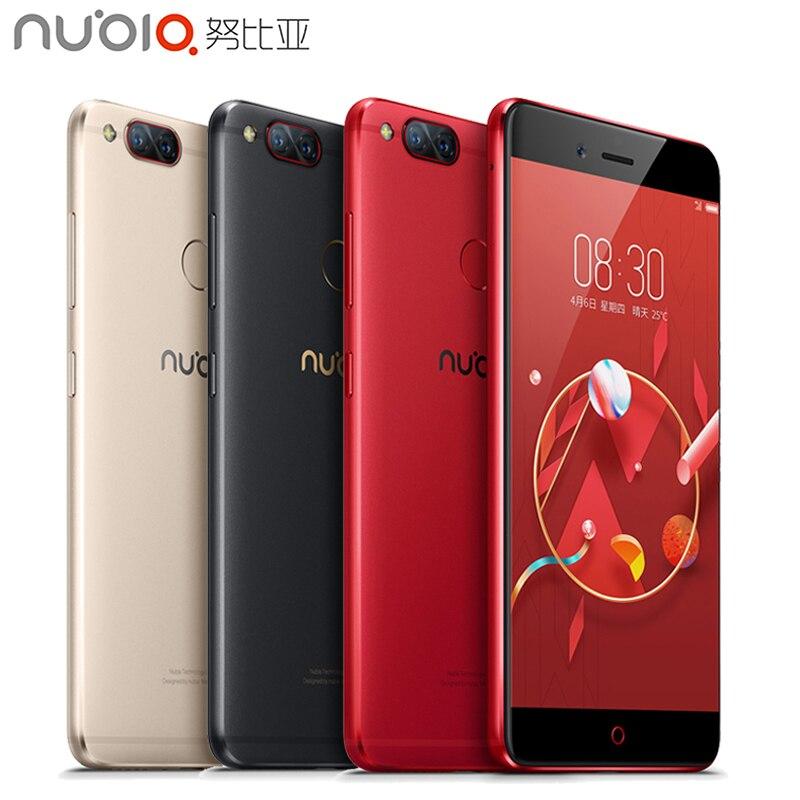 Оригинал ZTE Нубия <font><b>Z17</b></font> Mini 4 г мобильный телефон 4 ГБ ОЗУ 64 ГБ ROM 5.2 дюймов Snapdragon MSM8976 652 восьмиядерный двойная камера смартфона