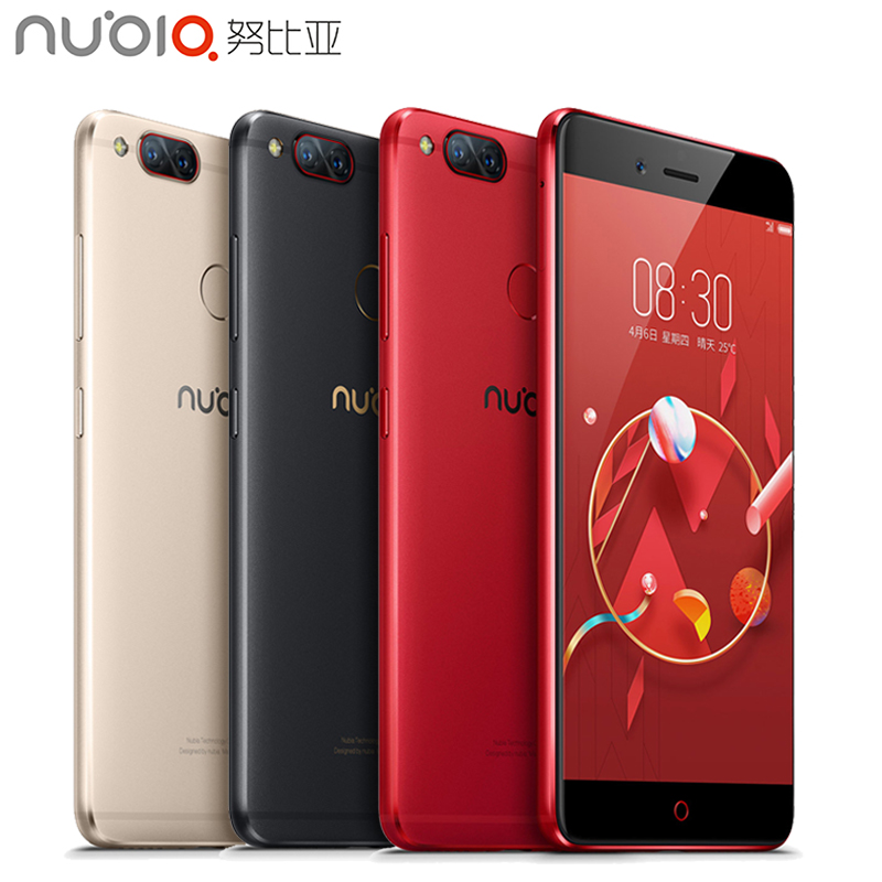 D'origine ZTE Nubia Z17 Mini 4G Mobile Téléphone 4 GB RAM 64 GB ROM 5.2 pouce Snapdragon MSM8976 652 Octa Core Double Caméra Smartphone