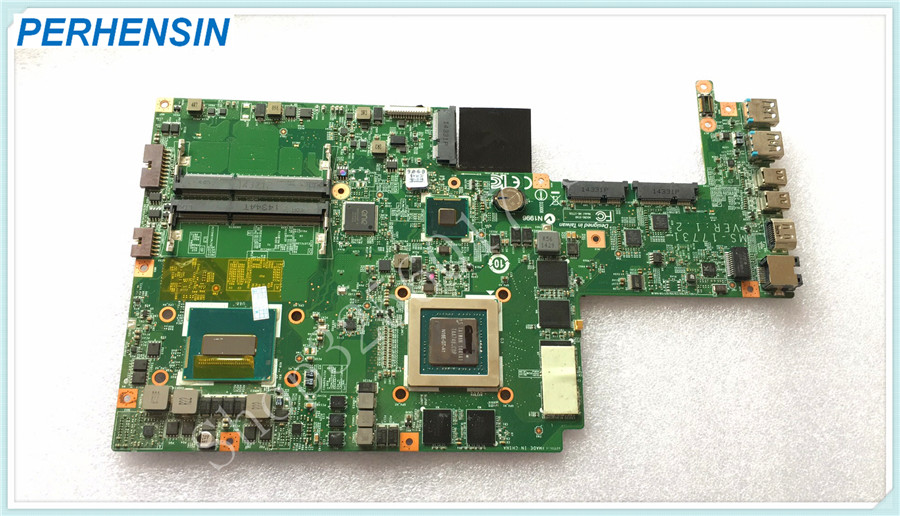 For MSI GS70 Laptop Motherboard MS-1773 MS-17731 MOTHERBOARD SR1Q8 i7 4720HQ Non-Integrated 100% WORK PERFECTLY