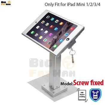 Fit For Ipad Mini1 2 3 4 Wall Mount Aluminum Metal Case