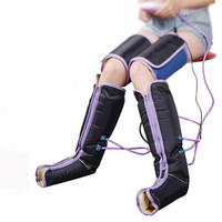 Electric pneumatic leg massager muscle atrophy prevention, circulation promotion, foot massage therapy physiotherapy apparatus