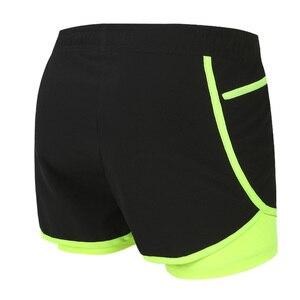Image 3 - Мужские шорты для марафона и бега 2 в 1, шорты для спортзала, шорты для спортзала, короткие спортивные велосипедные шорты с длинной подкладкой, большие размеры