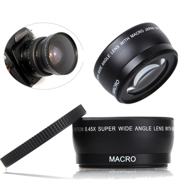 dbpower camera lens 58mm 0 45x wide angle macro lens for canon eos rh aliexpress com EOS 350D Canon Picture Quality Canon 350D Release Date