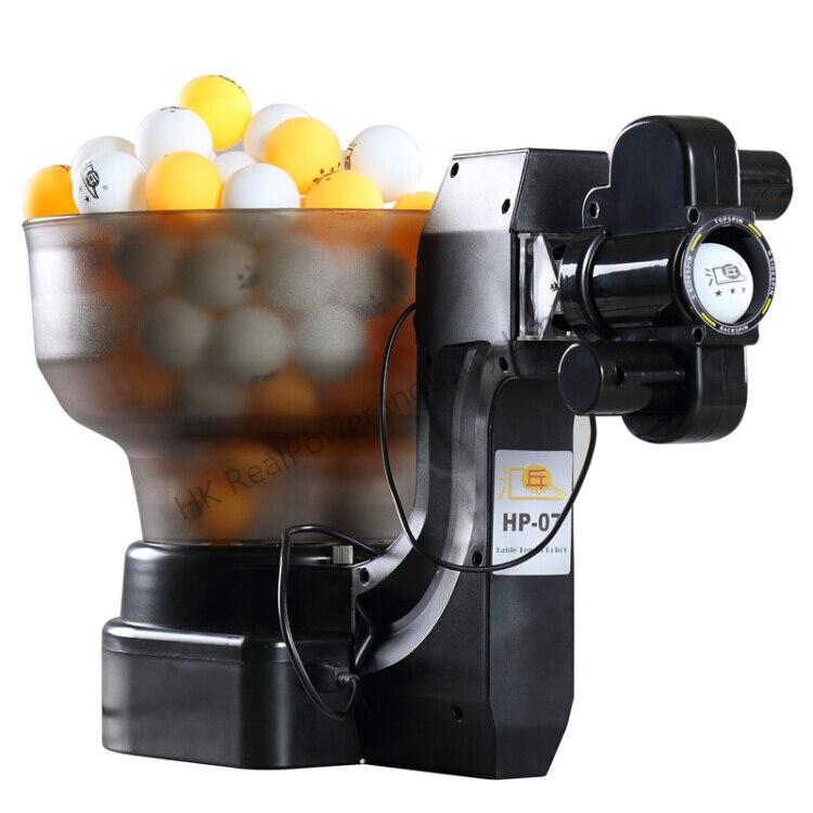 Tennis De Table Robots Balle Machines automatique balle machine 36 tours maison pratiquer machine Costume pour 40mm table balle tennic