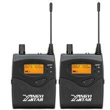 Casque professionnel dans loreille moniteur système sans fil Bodypack récepteur surveillance dans les écouteurs pour SR 2050 2000 300 chanteur de scène