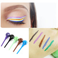 Portable Beauty Cosmetic Waterproof Liquid Eyeliner Eye Liner Pencil  with the shape of lolipop Fashion Eye makeup tools