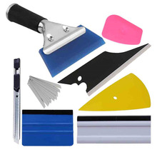 лучшая цена 8in1 Squeegee Car Window Tinting Auto Film Install Wrapping Applicator Tools