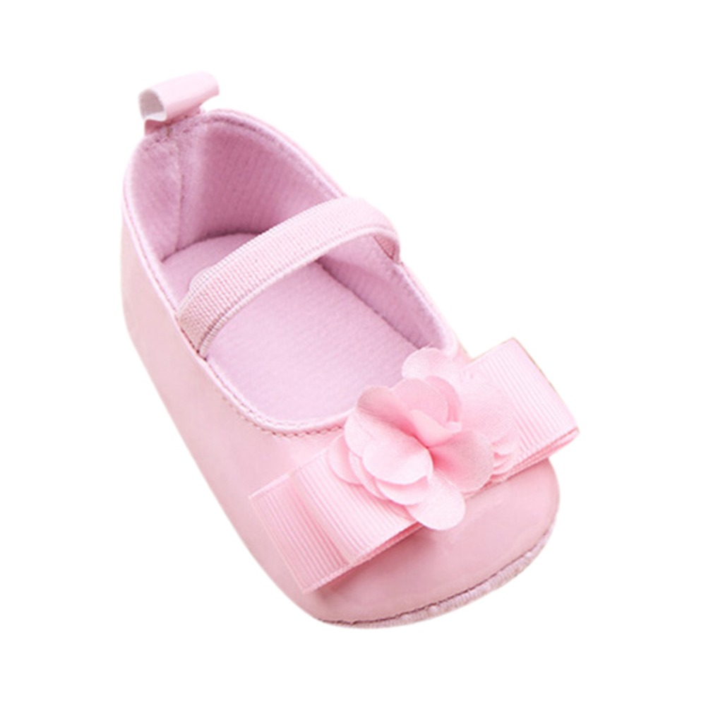 b30ab173efd9a Newborn Baby Shoes Prewalker Primi Camminatori Bella del bambino Sneakers  Infantil Pattini Della Principessa