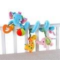 0-24Month Animais Dos Desenhos Animados Do Bebê Bumper Cama No Berço Berço Macio Conjunto Fundamento do bebê Cama Por Volta Para As Crianças Recém-nascidas Crib Bumper Colorido