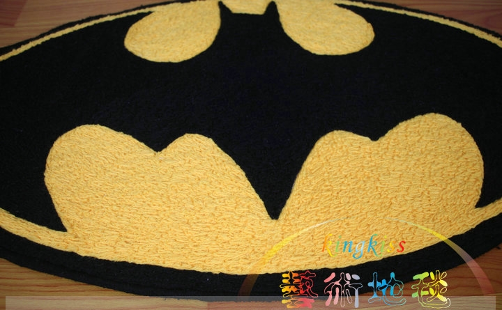 Online Shop Fluffy Carpet Batman Area Rug Living Room Bathroom Mat Doormat  Acrylic Alfombras Tapete Tatami Tapis Tappeto Oval Home 45*84cm |  Aliexpress ...