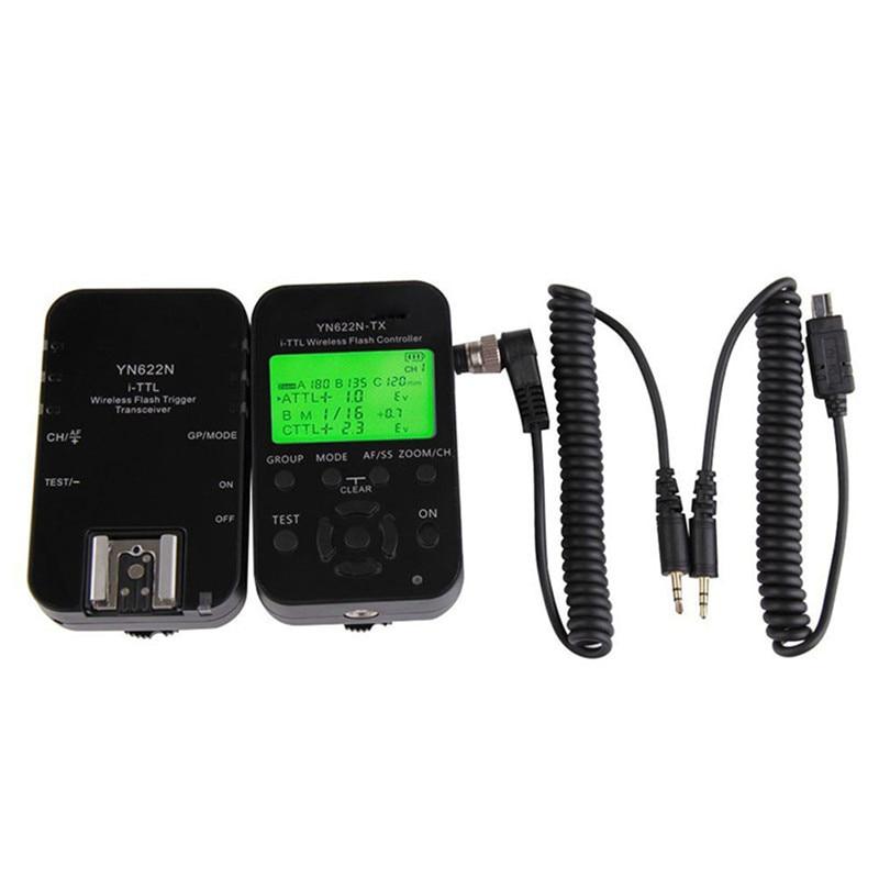 YONGNUO YN622N-KIT Wireless TTL ITTL HSS Flash Trigger Kit Transceiver & Transmitter Controller For Nikon yongnuo yn622c kit wireless e ttl hss flash trigger kit yn622c 622c transceiver