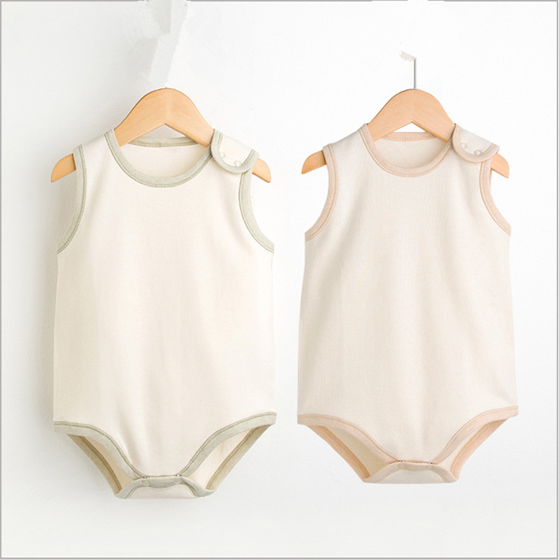 Baby bodysuit girl clothes summer newborn underwear Organic cotton children boys clothing long sleeve Infant jumpsuit sleepwear