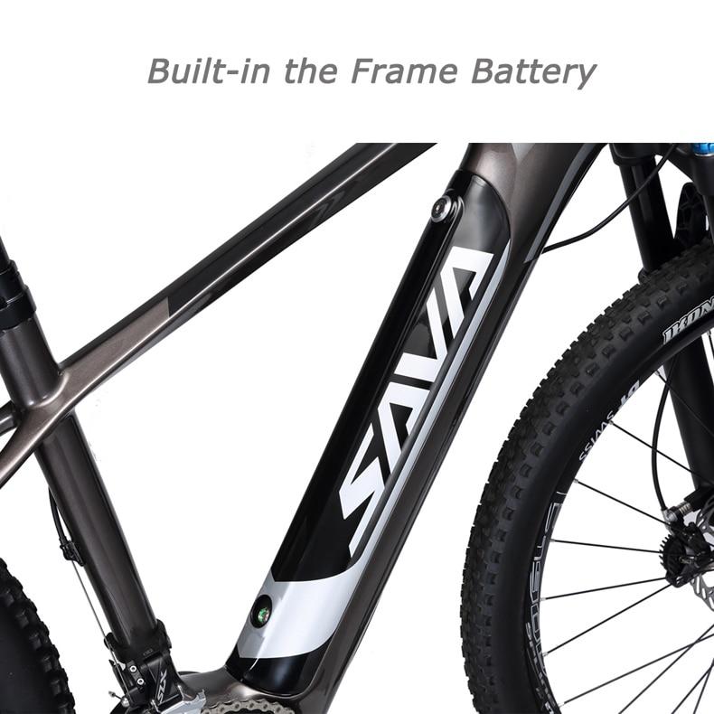 HTB1H0W9oZjI8KJjSsppq6xbyVXaS - SAVA Electrical bike Electrical mountain bike Carbon fiber e bike 27.5 bike Electrical bicycle carbon fiber body electrical bicycle