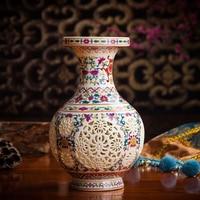 Jingdezhen Ceramic Creative Exquisite Vase Chinese Antique Vase Fashion Personality Home Decoration Crafts Decoration Vase 33