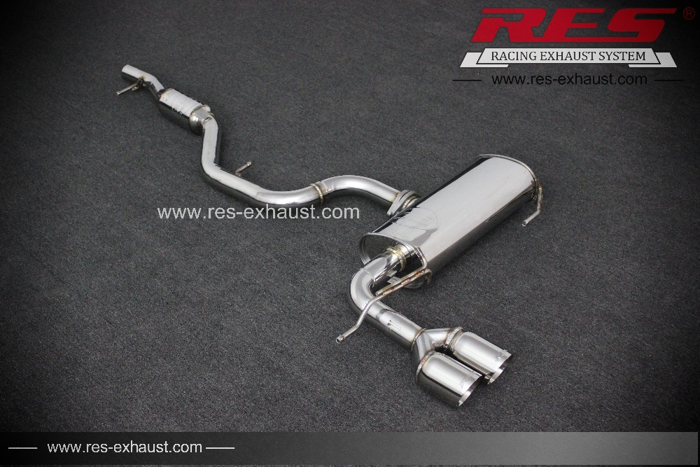 Foshan Factory Performance Parts Res Racing For Audi Q3 High Exhaust Systems Pipe: High Performance Exhaust Systems For Cars At Woreks.co