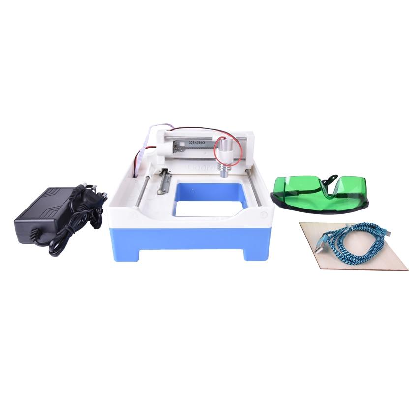 100mw Laser Mini laser engraver, Laser engraving machine, Automatic carving for 1pcs цена