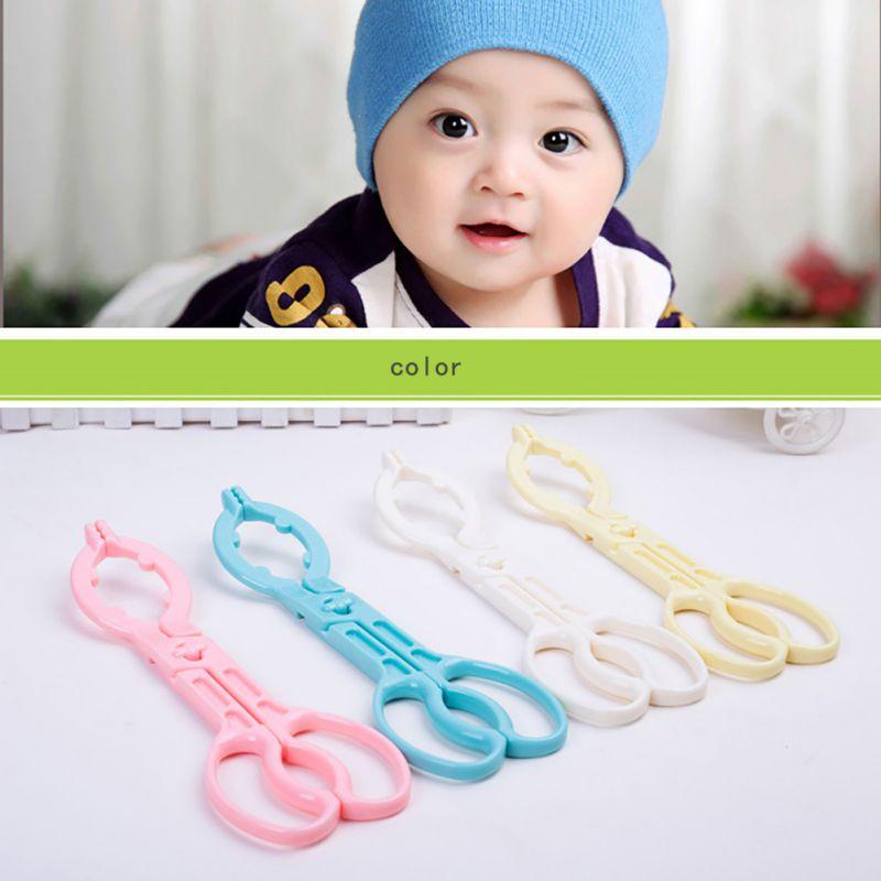 Baby Milk Bottle Tongs Feeder Feeding Bottle Clamp Skid Bottle Clips Anti-slip Sterilized Forceps High Quality