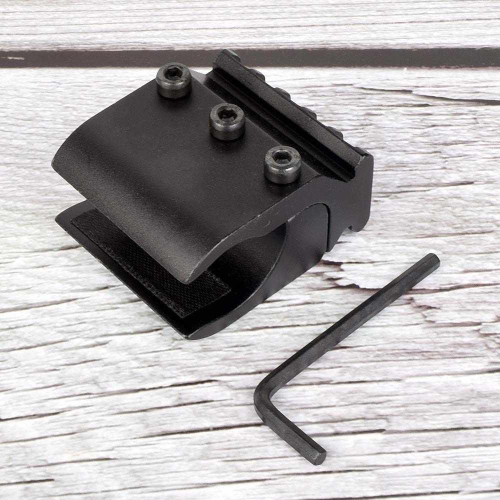 1 قطعة 2 أنبوب واحد بندقية Picatinny السكك الحديدية محول ل 20 مللي متر السكك الحديدية جبل الصيد التكتيكية اكسسوارات