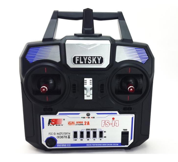 New Version FlySky FS FS-i4 2.4G Transmitter & Receiver System LED for RC Helicopter Glider Quadcopter TX&RX Part led телевизор panasonic tx 43dr300zz