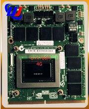 Wonjo оригинальный GTX 780 м GTX780M 4 г N14E-GTX-A2 видеокарта для dell M17X R5 M18X R2 R3 R4 DDR5 GPU Замена