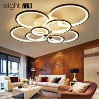 Современные потолочные светильники творческий Алюминий светодиодный светильники исследование комната спальня лампы Nordic Новинка утюга ос