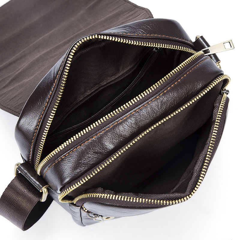 7975a184734f OTHERCHIC Genuine Leather Bags Men Quality Messenger Bags Small Roomy Travel  Bag Vintage Crossbody Shoulder Bag For Men 7N04 40-in Crossbody Bags from  ...