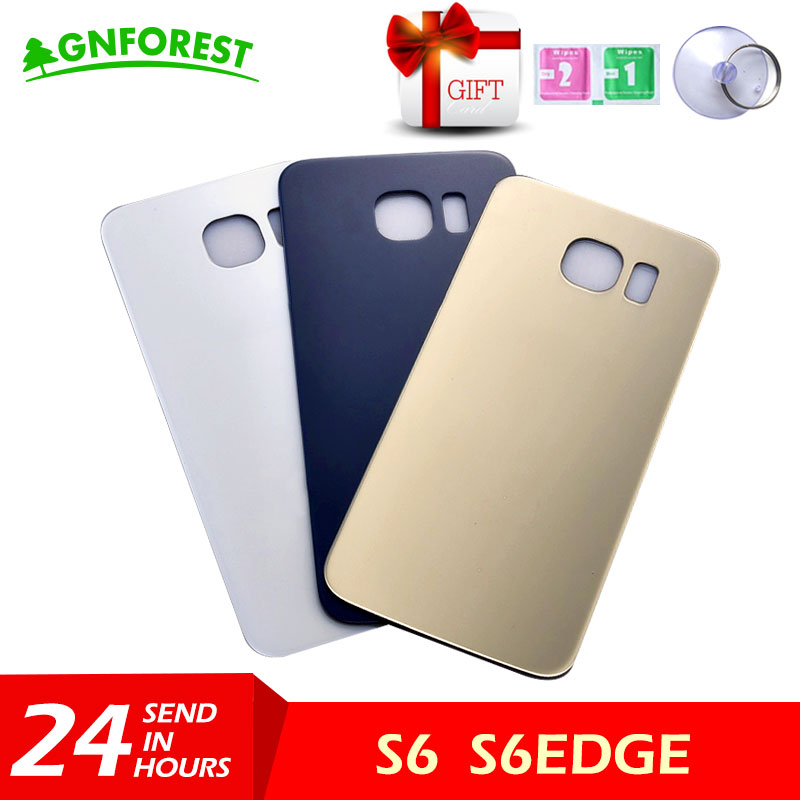 Panel-Plate Chassis-Frame Back-Glass Galaxy S6 Housing Battery-Door Edge-Plus SAMSUNG