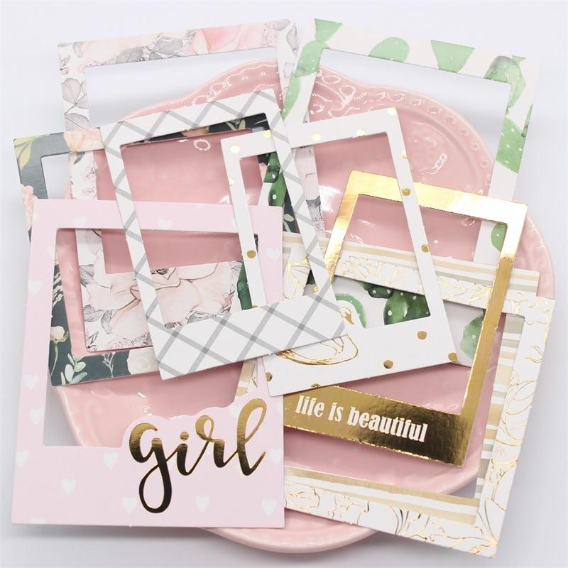 KSCRAFT Life Is Beautiful Lovely Frames Sticker for ...