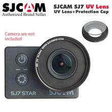 Original SJCAM SJ7 Star MC UV Lens + Protection Cap Lens UV Filter Lens Cover For SJCAM SJ7 Star Action Camera