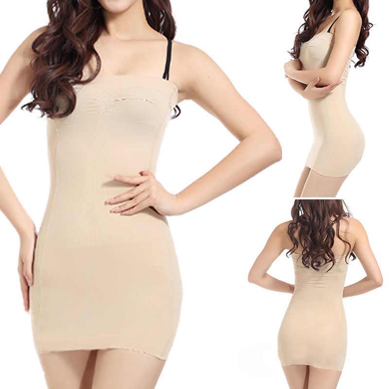 4bec27d061 ... Sexy Women Body Slip Shaper Seamless Slimming Tube Shapewear Strapless  Dress ...