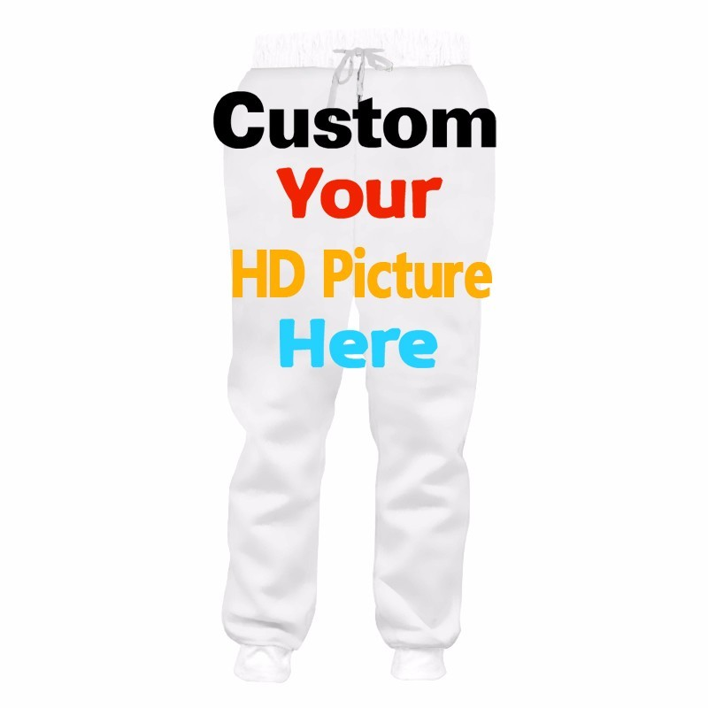 custom jogger pants - design your own