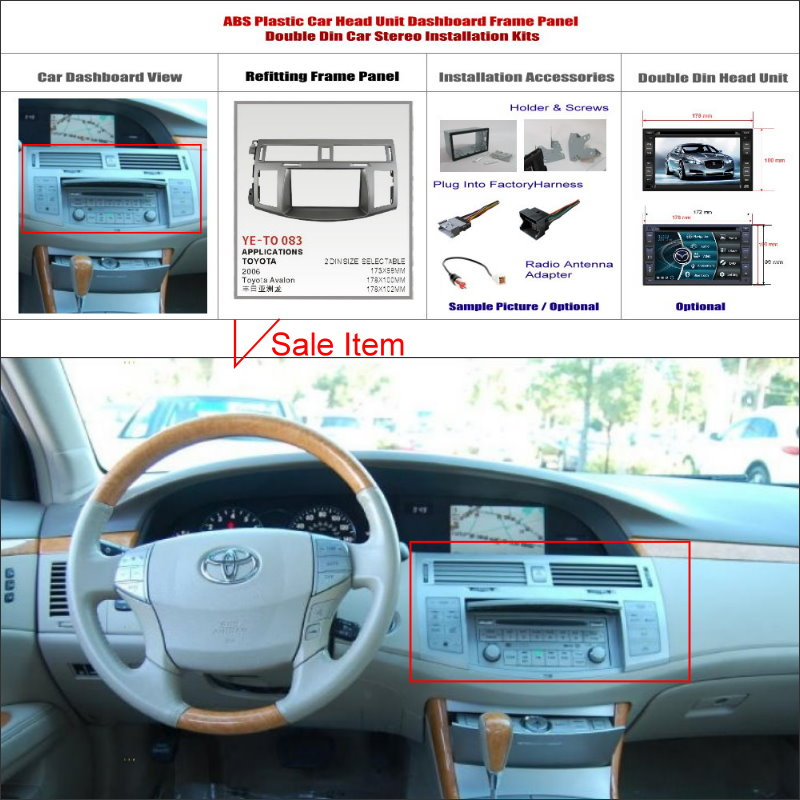 toyota stereo dash kit chinese goods catalog. Black Bedroom Furniture Sets. Home Design Ideas