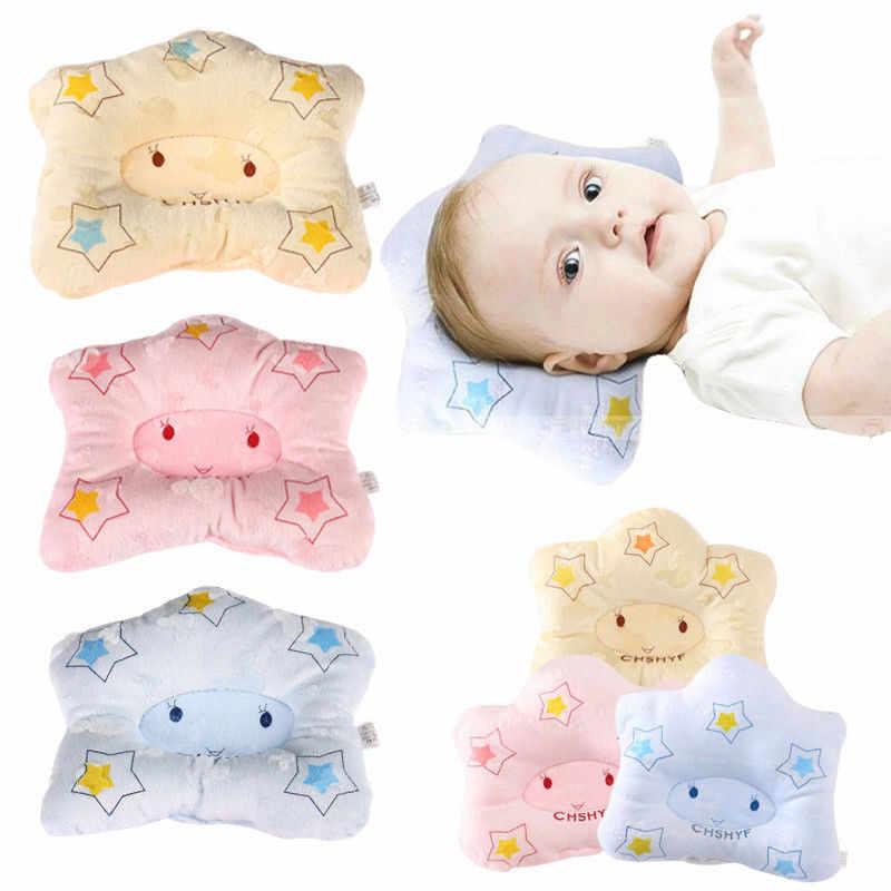 1 個新生児少年枕整形枕漫画アンチロールピローフラットアンチロールピローフラットヘッド