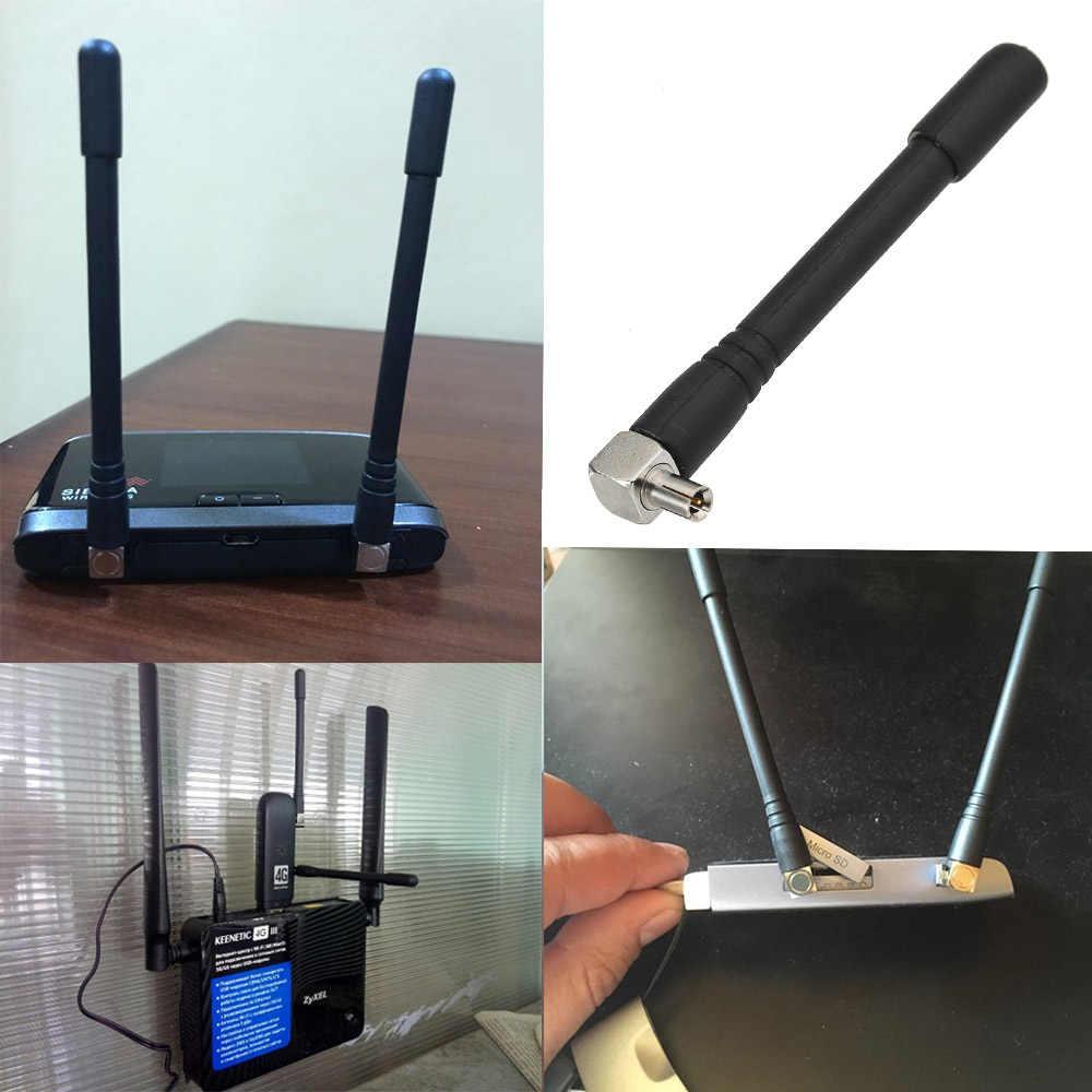 Eightwood Mini TS9 Antenna for Verizon Jetpack 4g lte Mobile Hotspot  Netgear Network Mini Router TS9 Connector Set of 2