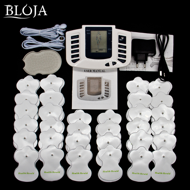 Full Body Electric Stimulator Muscle Relax Device Therapy Acupuncture Pulse Tens Massager With 32Pads
