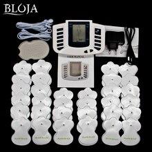 Full Body ไฟฟ้าเครื่องกระตุ้นกล้ามเนื้อผ่อนคลายอุปกรณ์ Therapy การฝังเข็ม PULSE TENS Massager 32 แผ่น