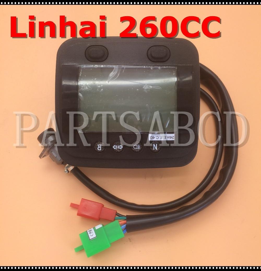 Partsabcd Linhai 260cc 300cc 400cc Atv Quad Speedometer Assy