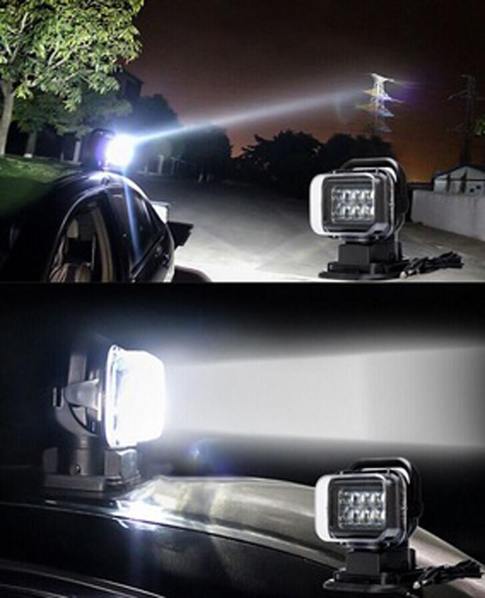 Տաք 50W 7inch LED լուսային լուսավորություն - Ավտոմեքենայի լույսեր - Լուսանկար 6