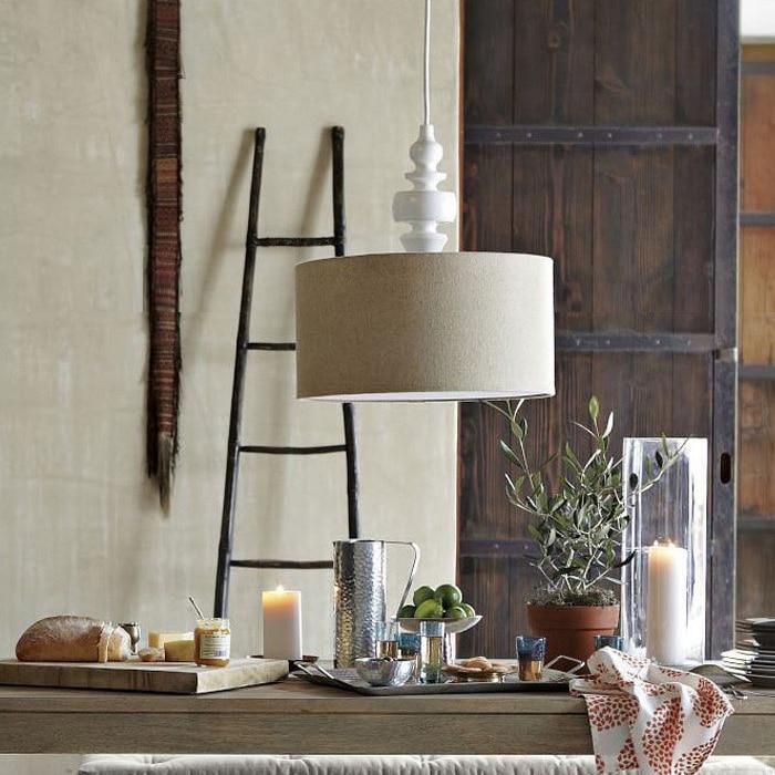 nordic ikea di legno rotondo lampadari moderni design minimalista ...