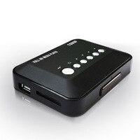 Tüketici Elektroniği'ten HDD Oynatıcı'de Full HD 1080P HDMI Çoklu TV Medya Oynatıcı MKV AVI SD MMC Ev Eğlence *